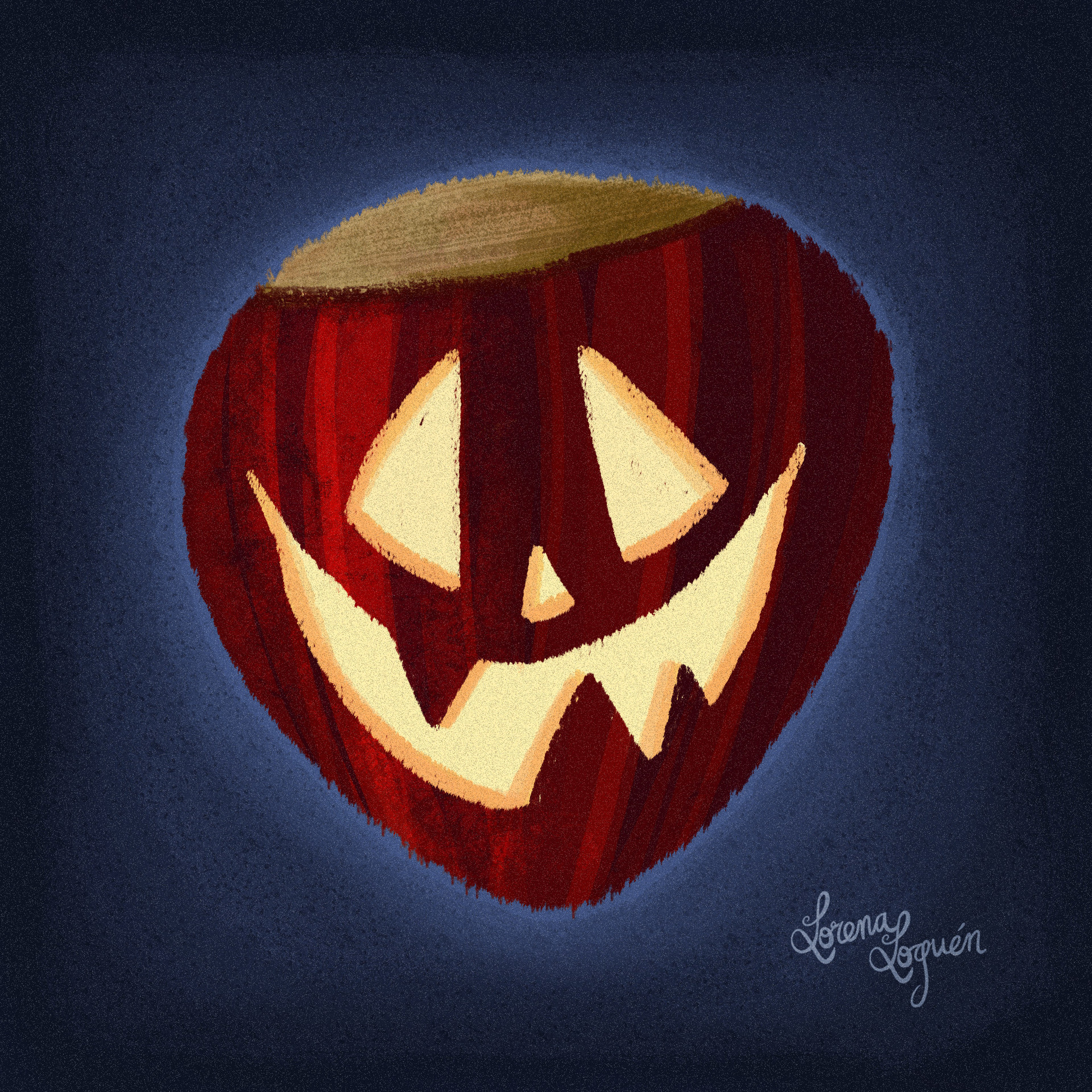 Lorena loguen happy castanyalloween 2016 chestnut by lorena loguen