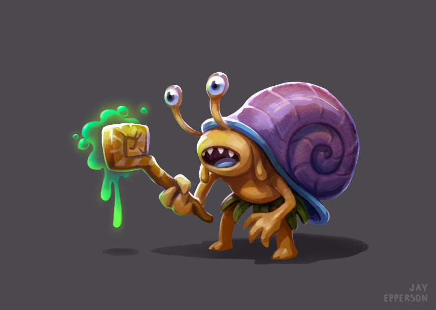 Snail Mage