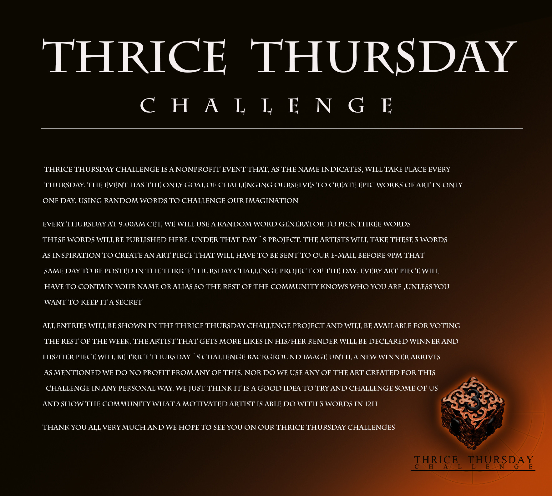 Thrice Thursday - Thrice Thursday Challenge