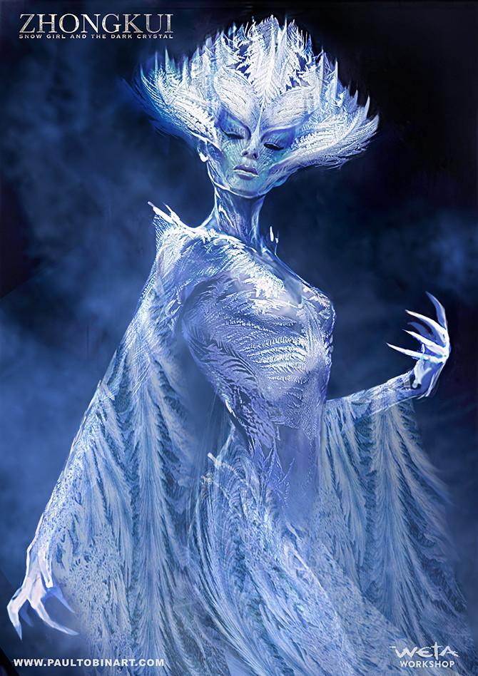 Snow Girl Concept