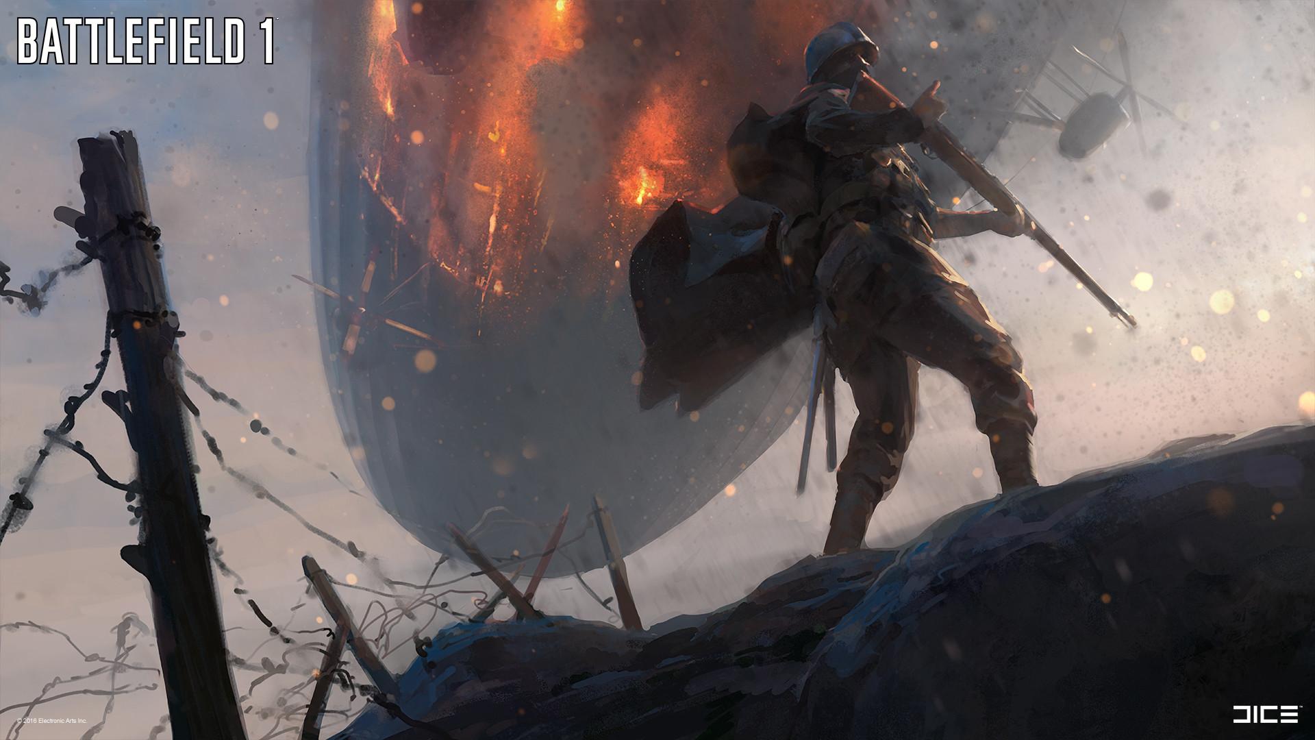 Battlefield 1 Concept Art A