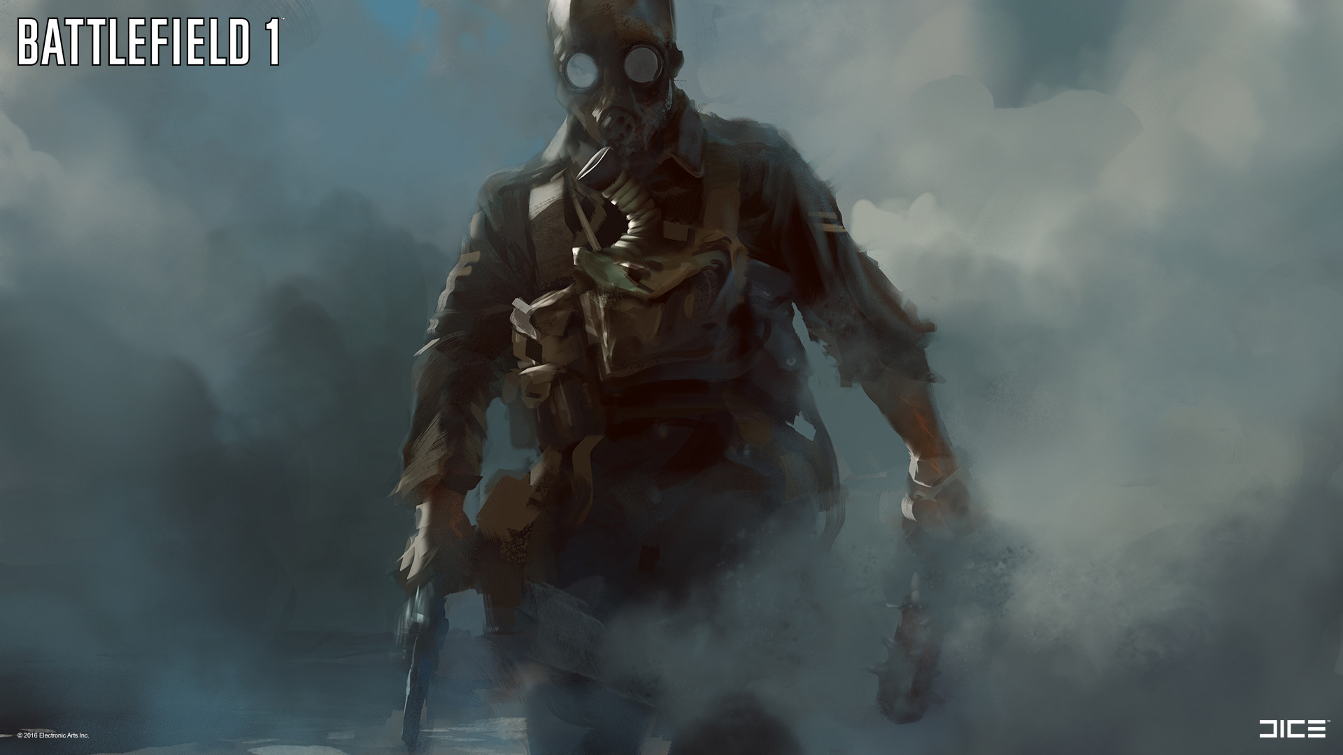 Army Of Two Mask Concept Art