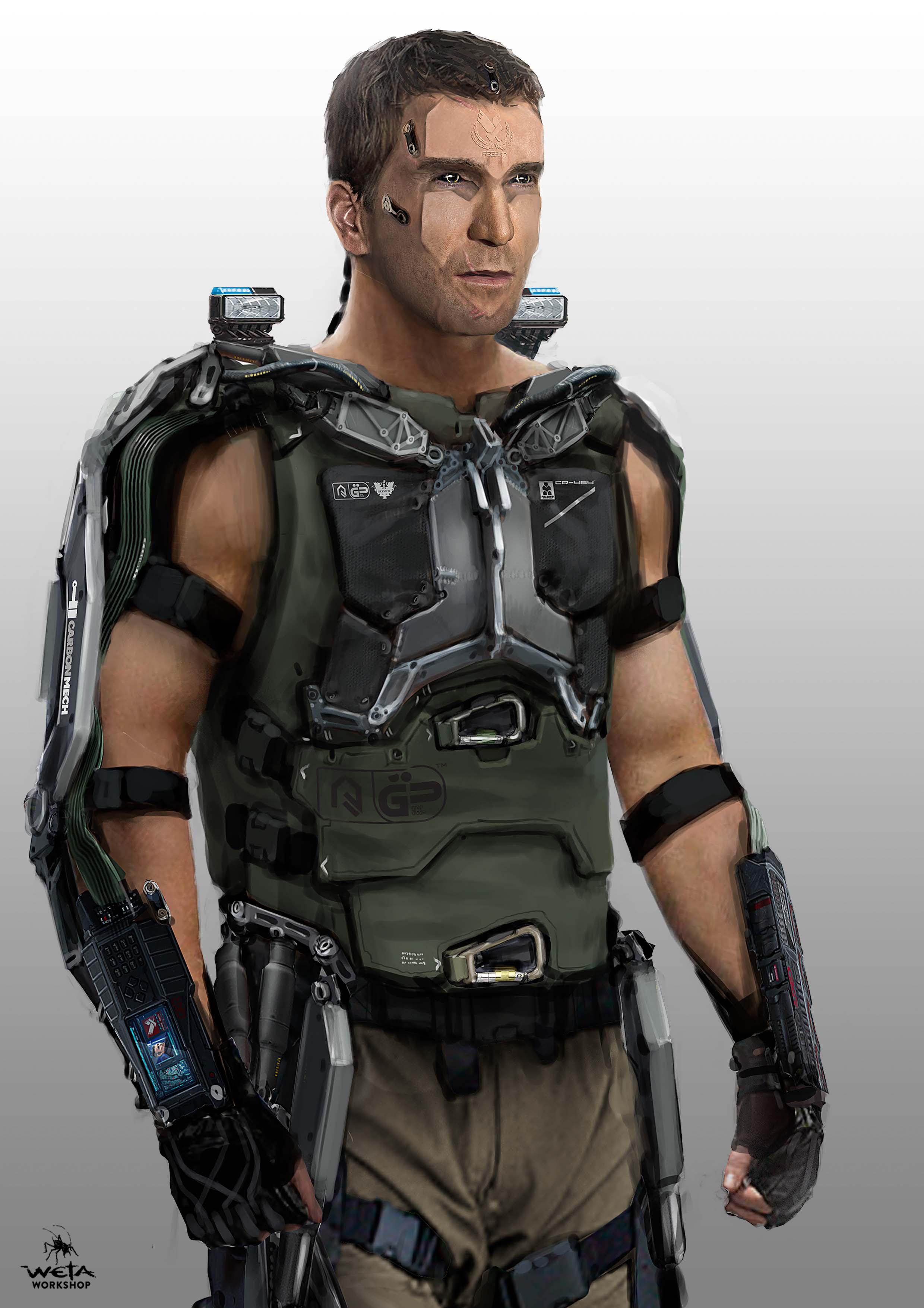 Kruger Hulc Suit Front - Artist: Aaron Beck