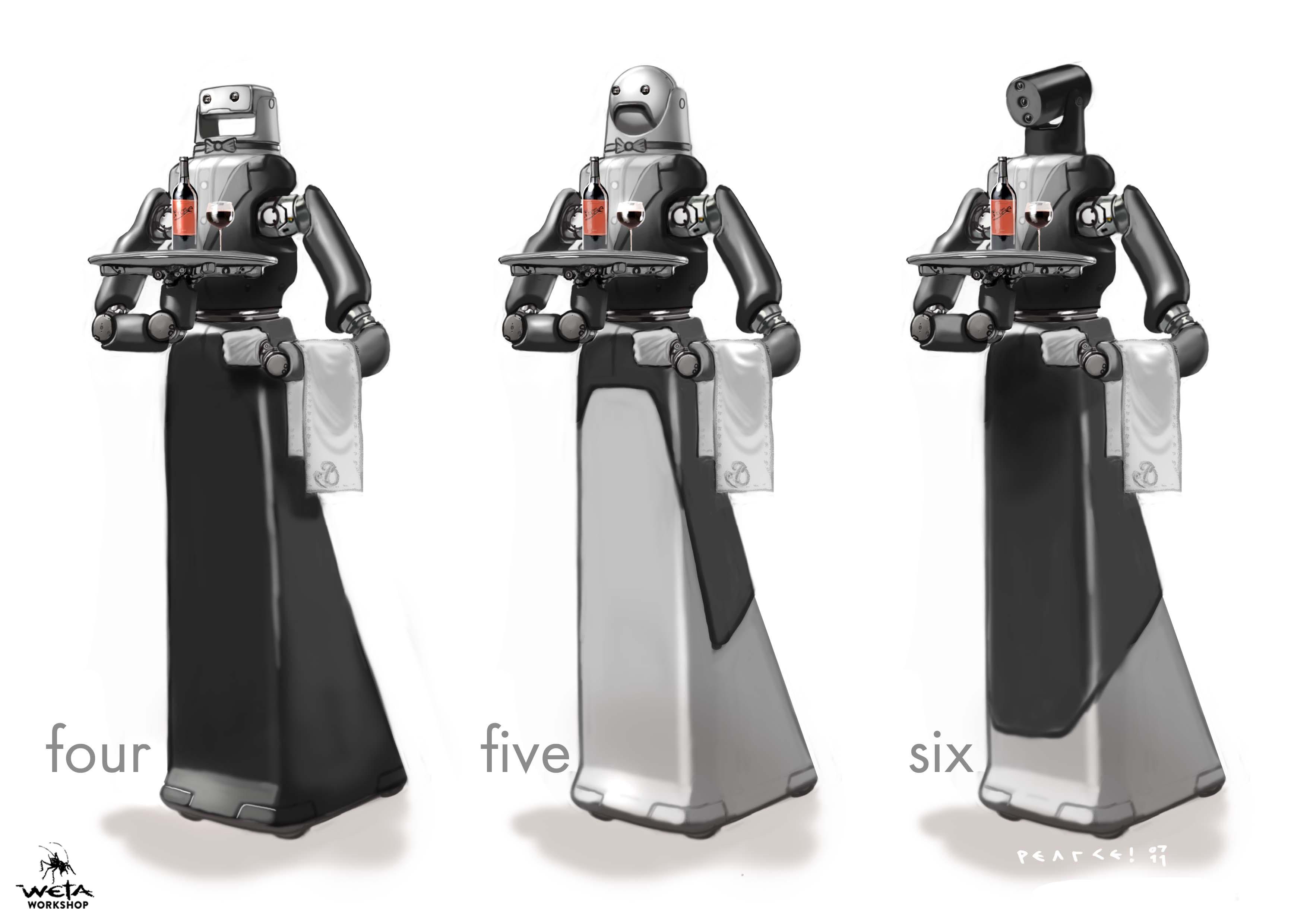 Waiter Bot -  Artist: Christian Pearce