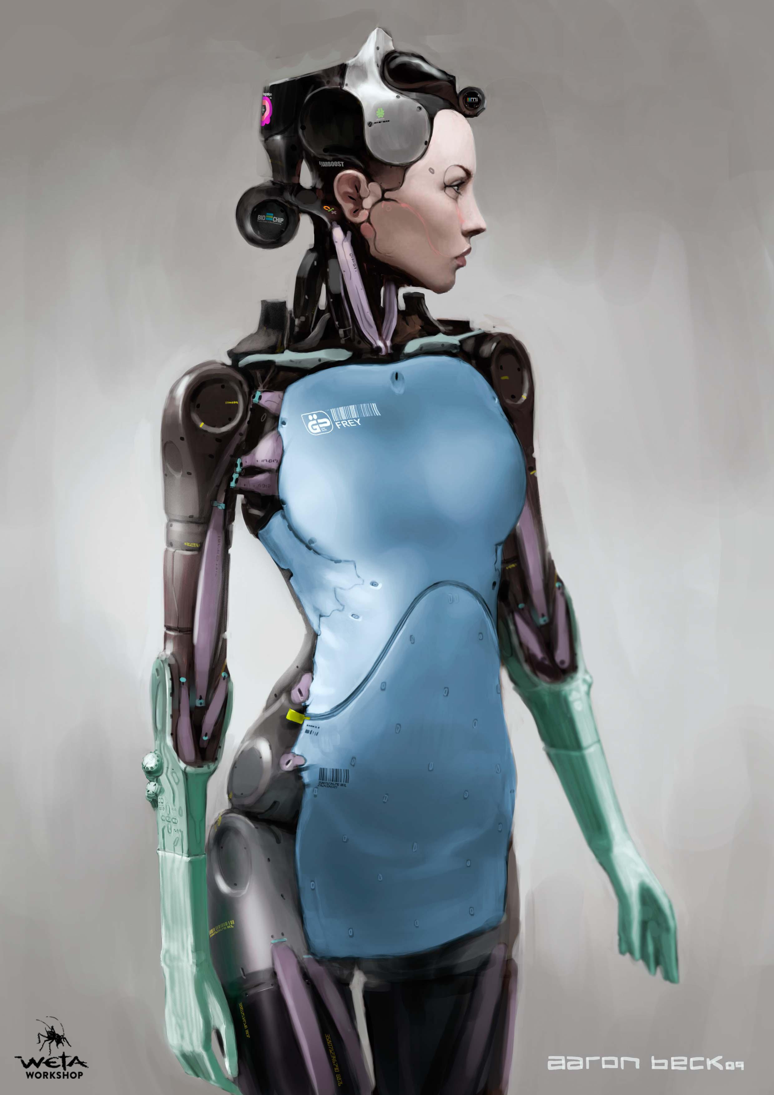Medical Bot -  Artist: Aaron Beck