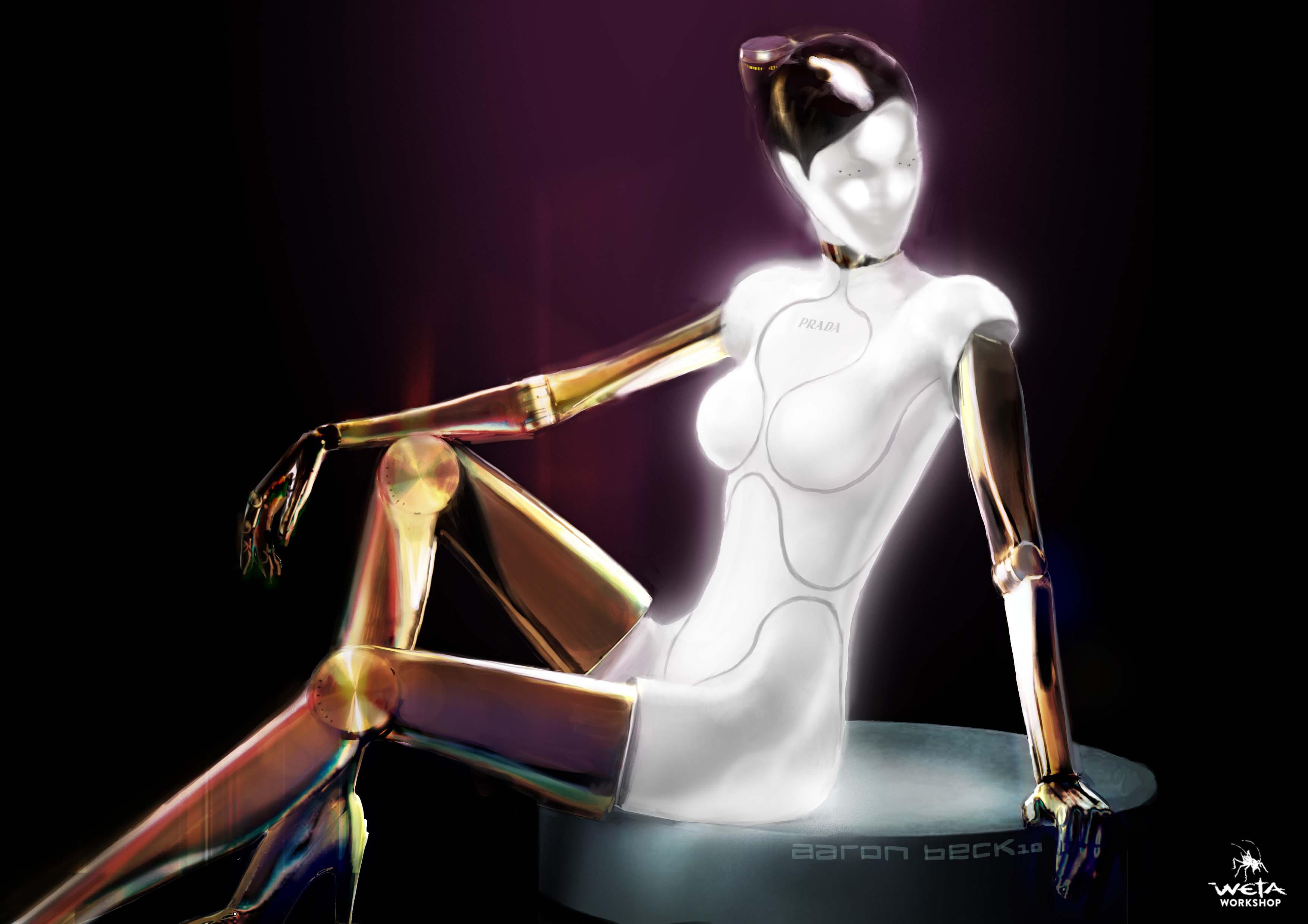 Hostess Bot -  Artist: Aaron Beck