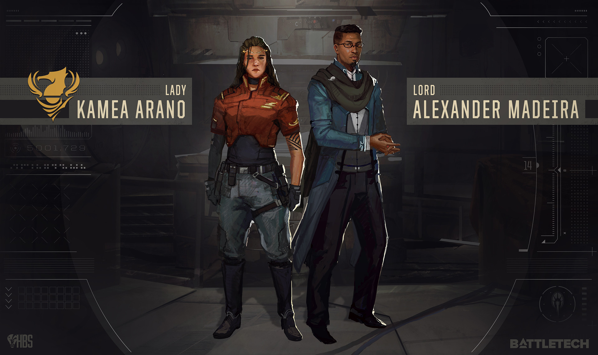 Our main protagonist and her advisor.