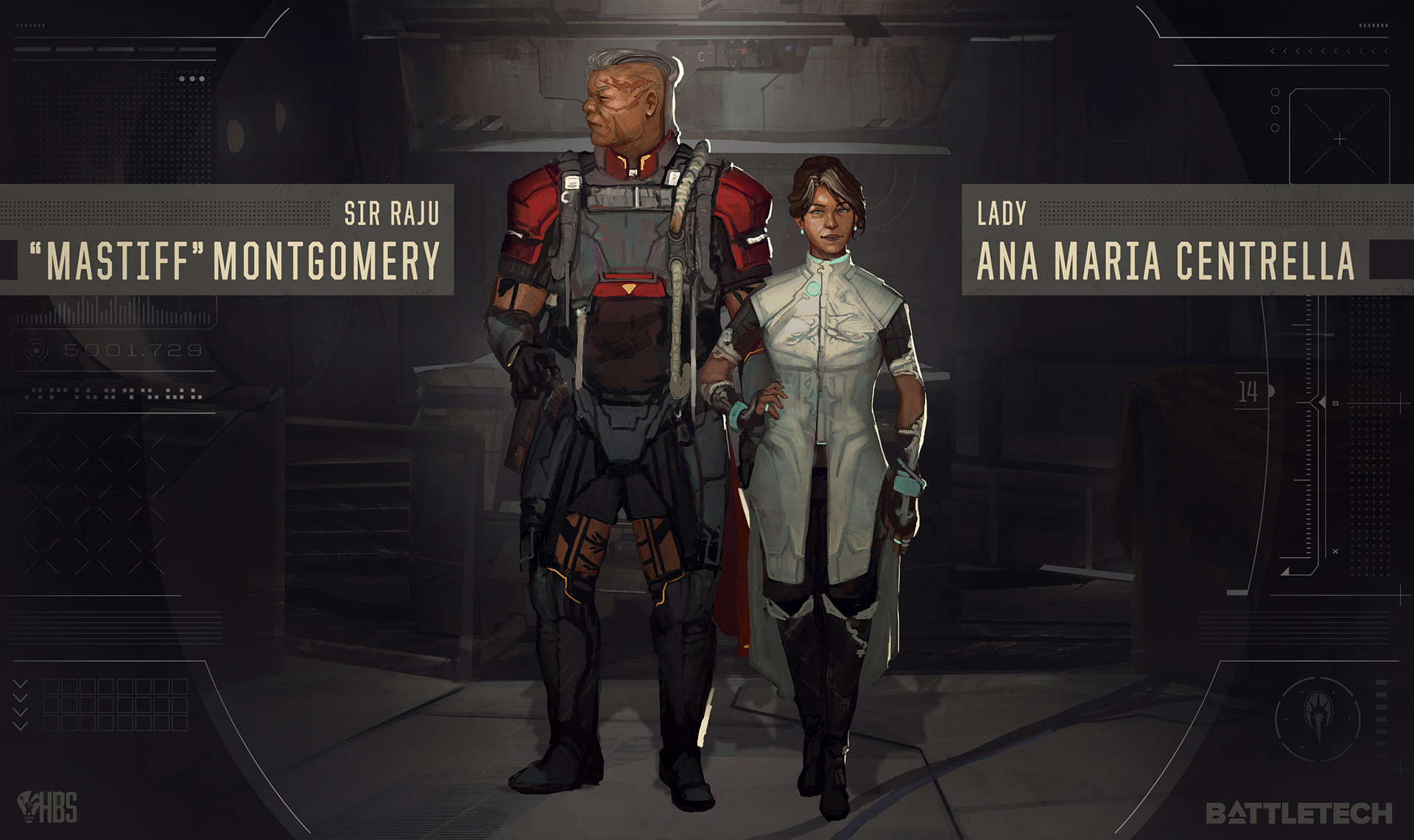 A veteran and an emissary.