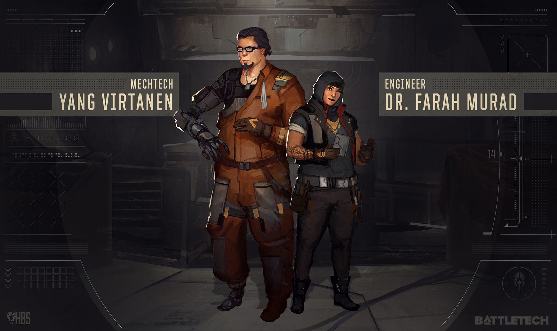 Members of your dropship crew. (cont.)