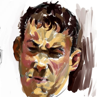 Douglas deri face studies02