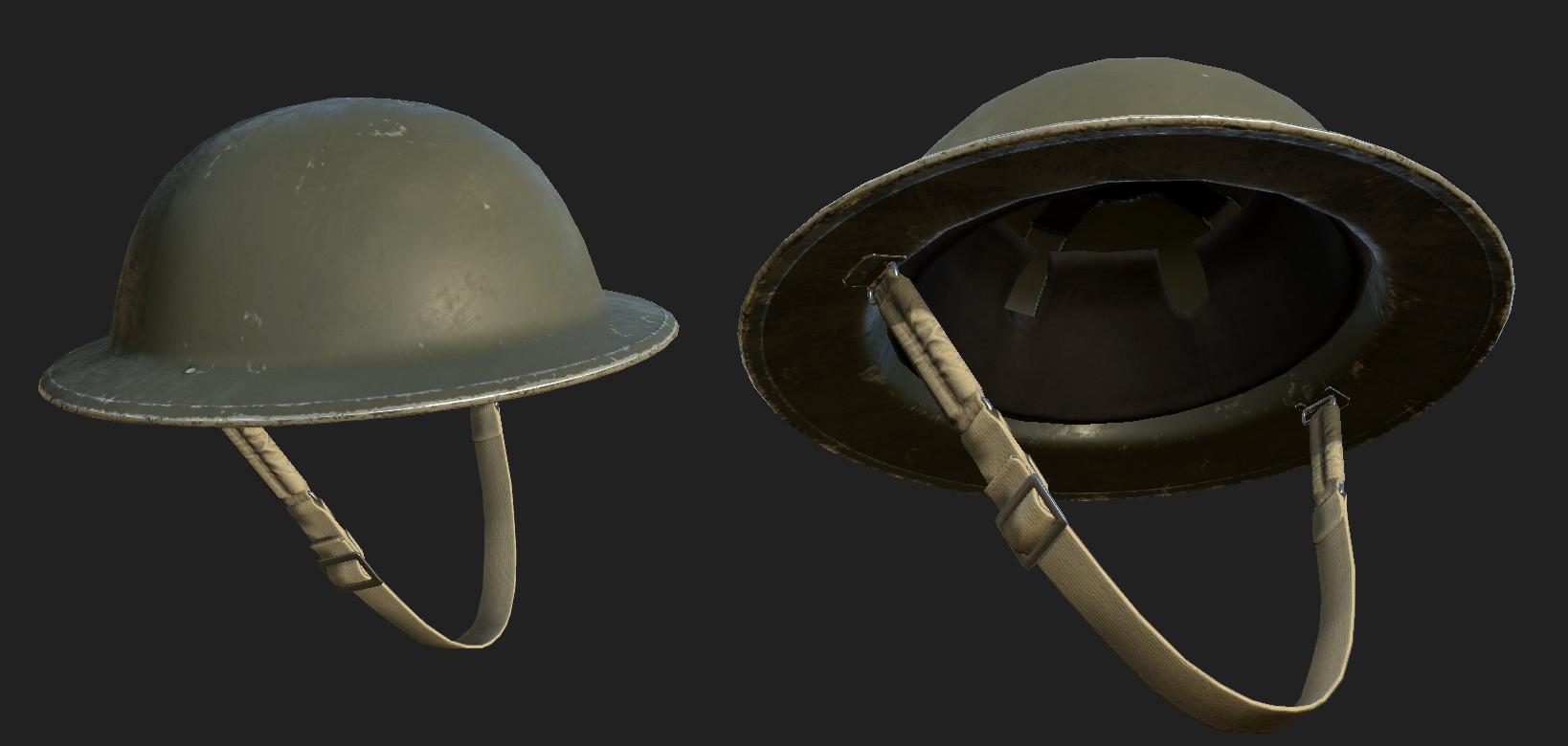 Brenton goodwin britarmy helmet final