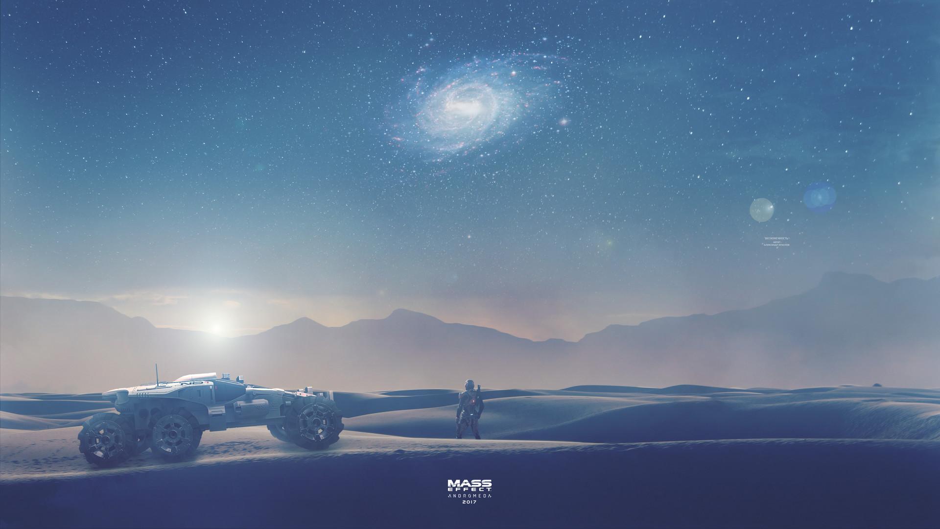 Artstation Infinity Mass Effect Andromeda Wallpaper 4k Alexander Manakhov