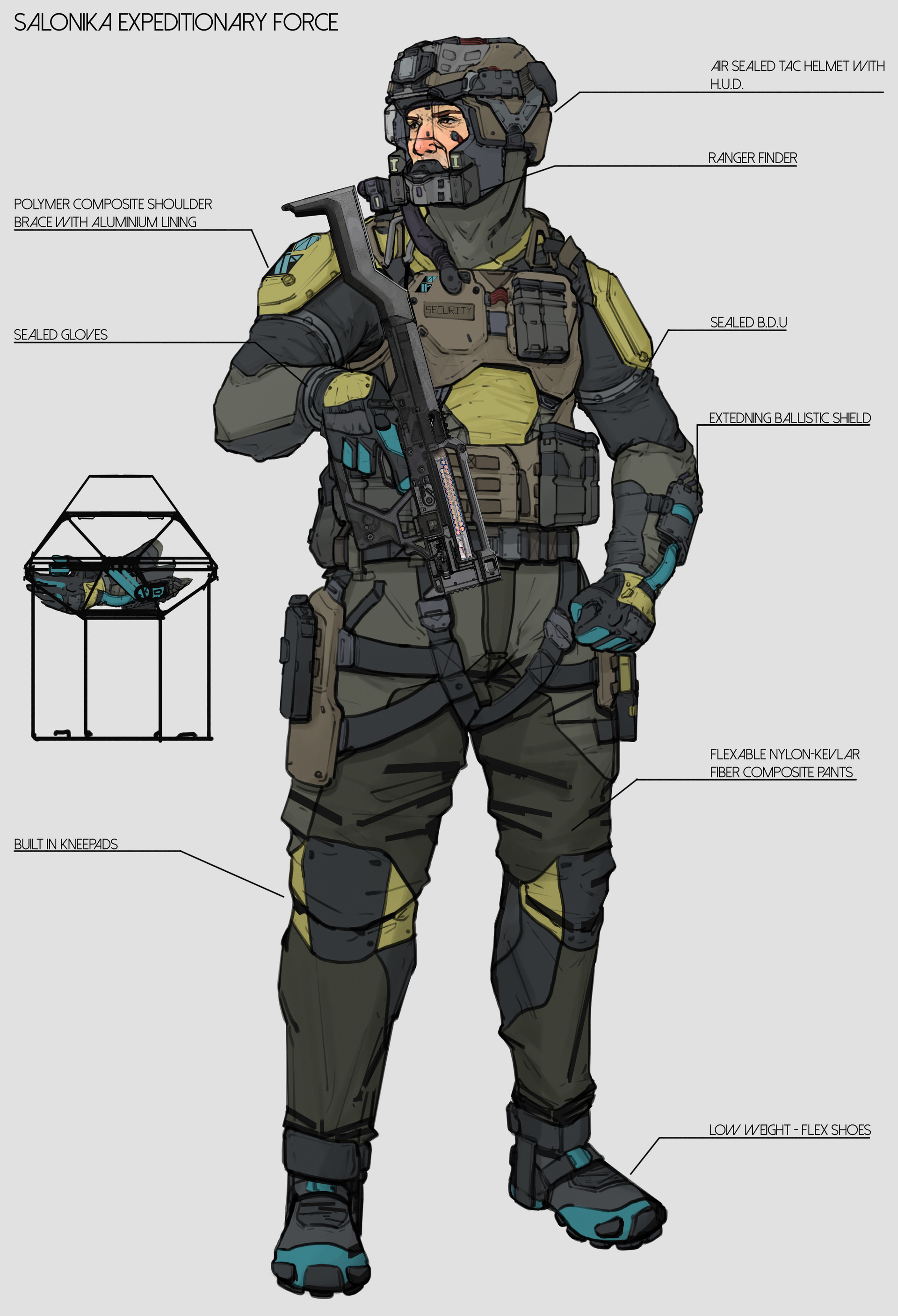 Body Armor in the future | SpaceBattles Forums