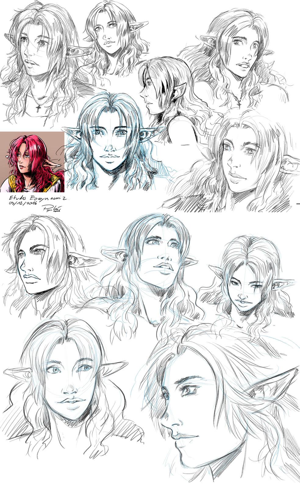character studies : Eowyn