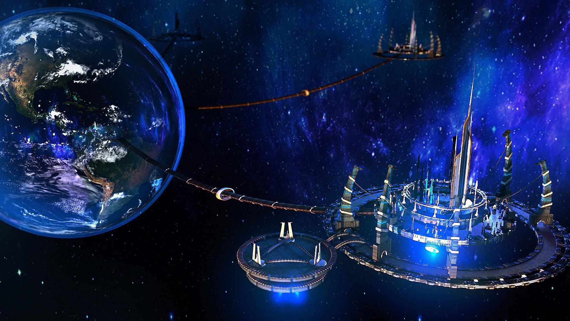 космические города фото что есть