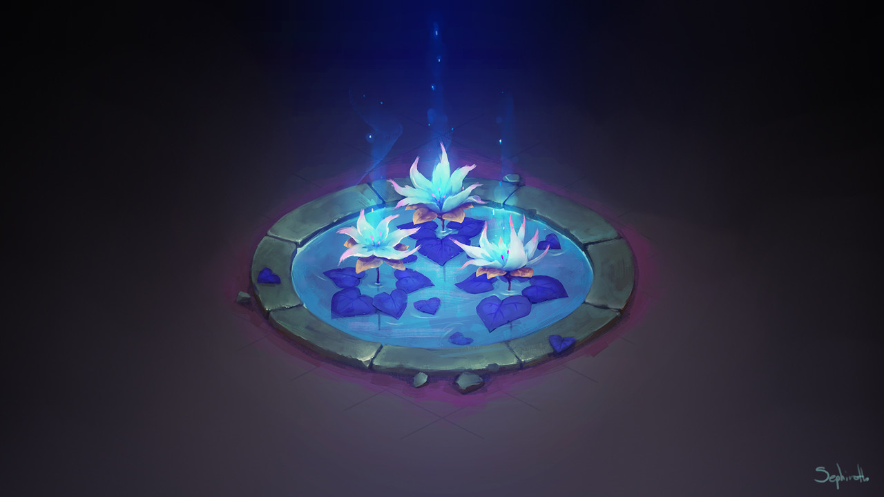 Isometric Water Lilly