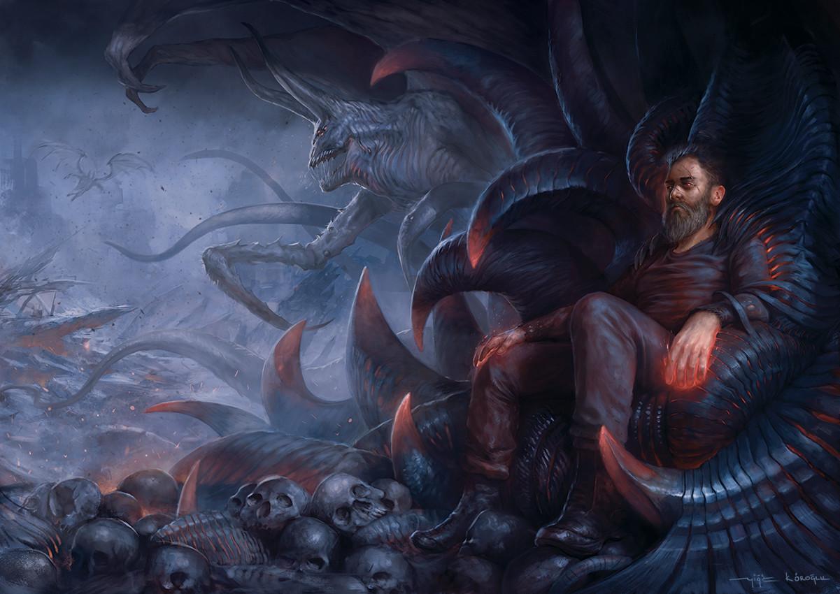 Yigit koroglu the cursed thrones