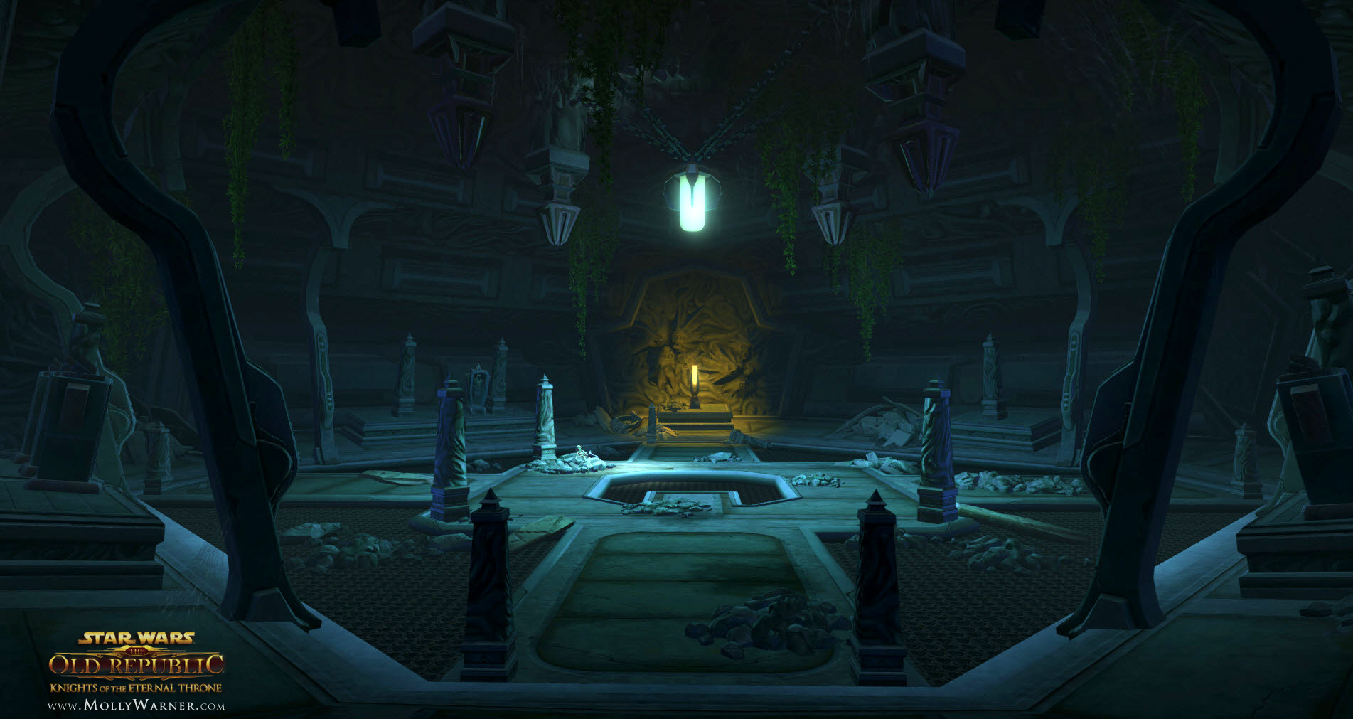 Sith Temple Catacombs (Boss fight area)