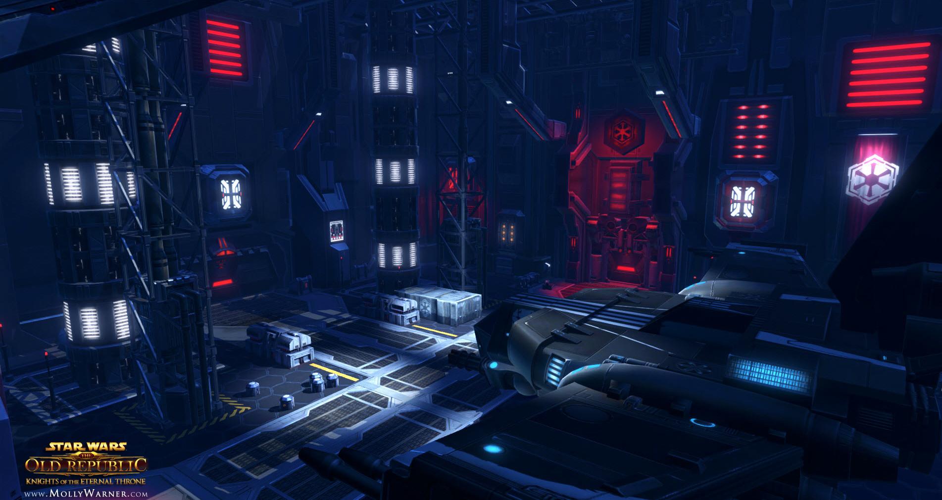 Artstation Star Wars The Old Republic Knights Of The Eternal Throne Dromund Kaas Molly Warner
