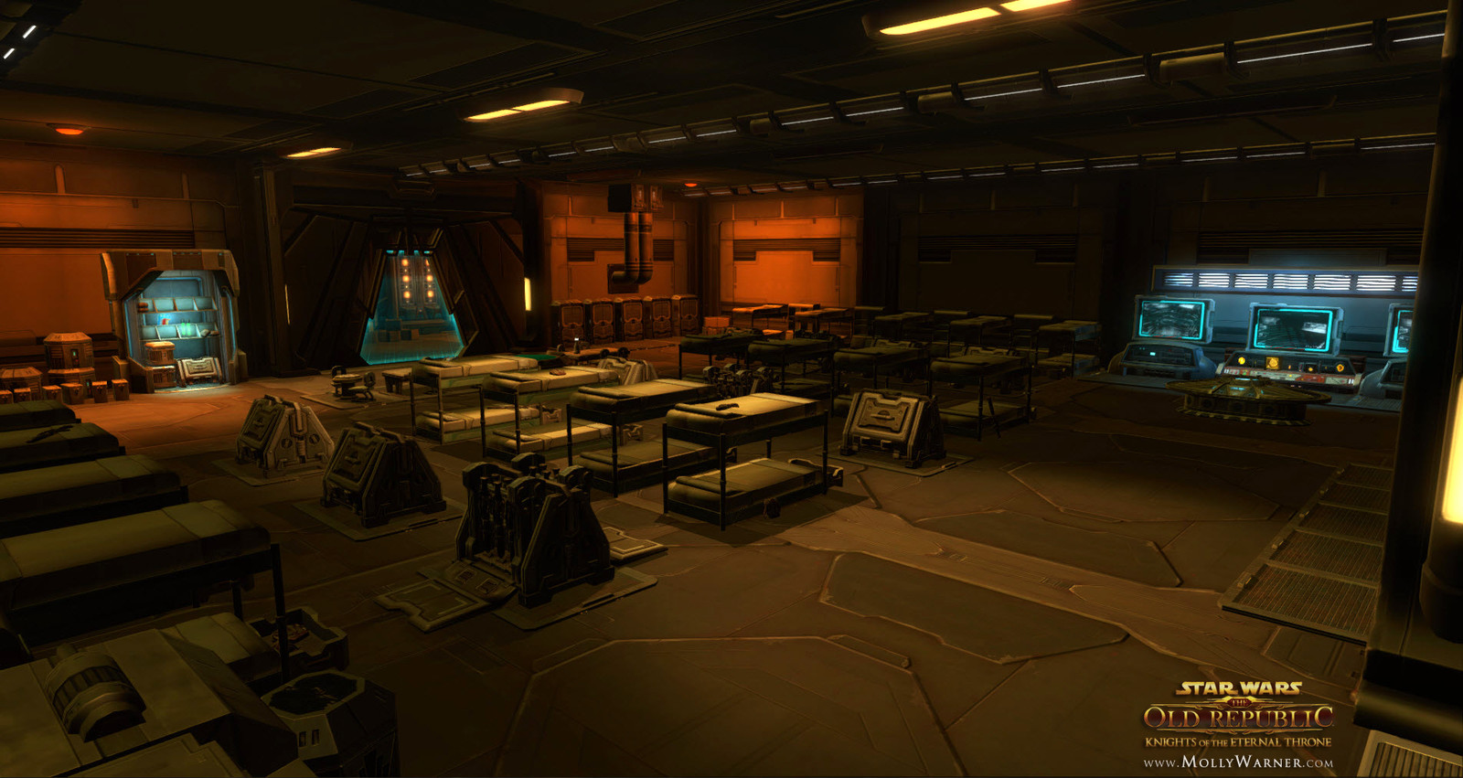 Zakuul Guard's Barracks Room