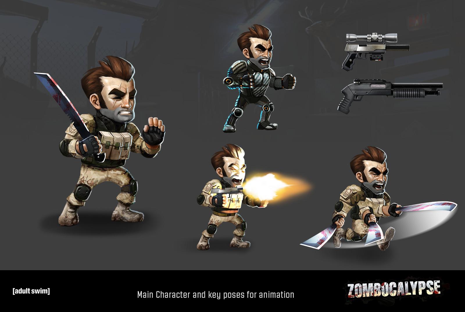 Brandon jones zombo characters