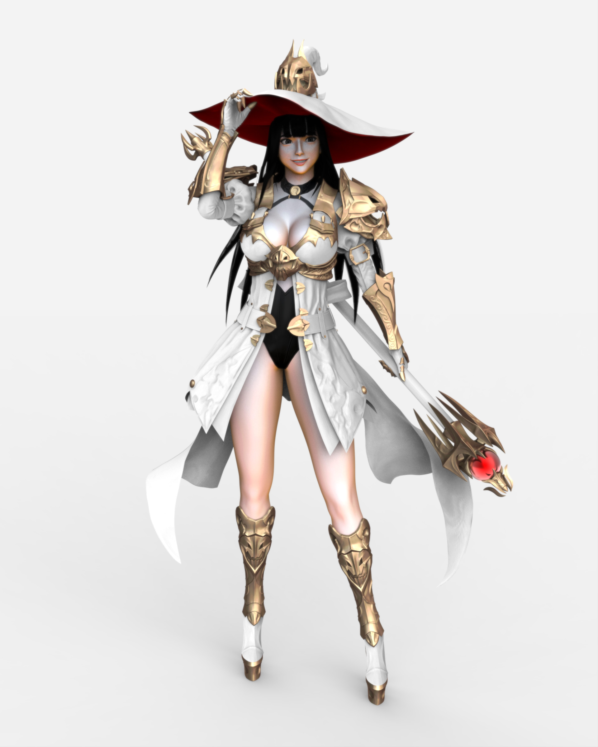 White Witch Render as Refrence