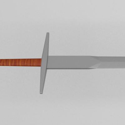 Nicklas hansen long sword rgb color