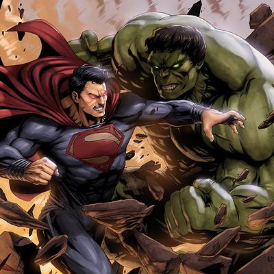 Sam delatorre 1 superman vs hulk