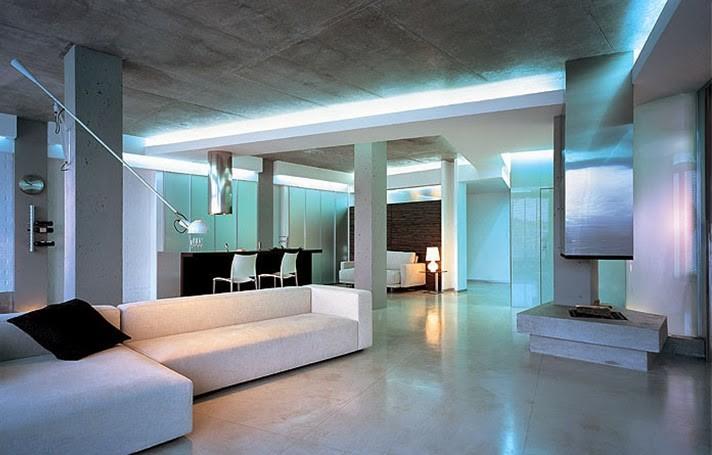 Хай тек дизайн квартиры