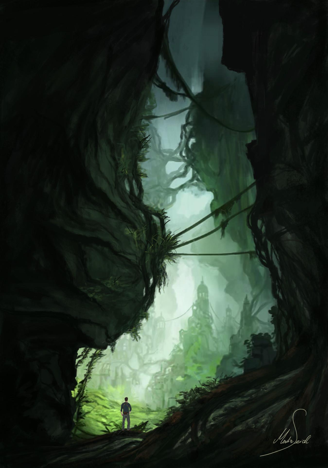 Martin seidl uncharted jungle concept art