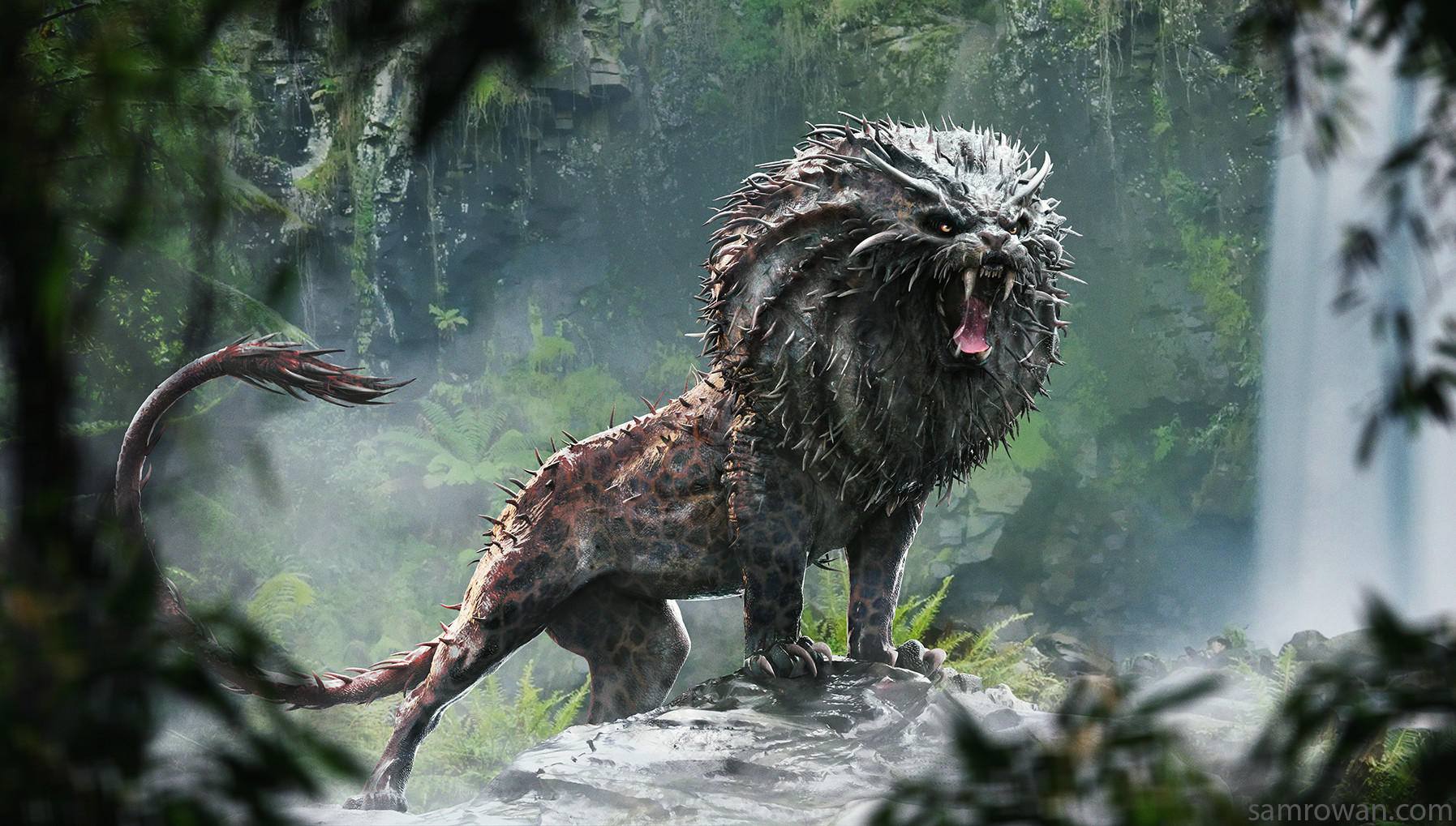 Sam Rowan The Numdu Fantastic Beasts