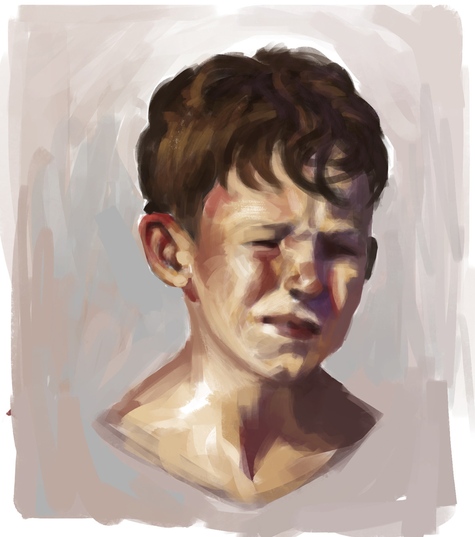Douglas deri face studies 11