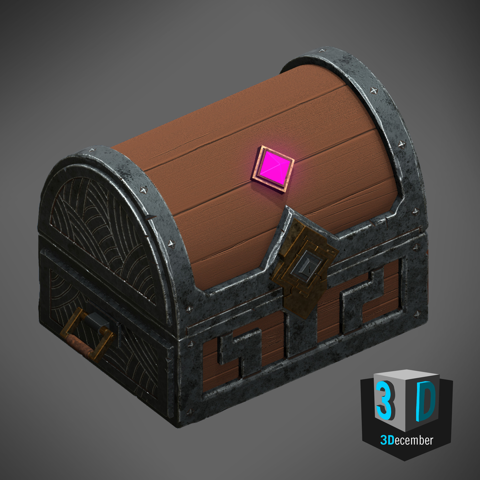 3December - Day 6 - Treasure Chest