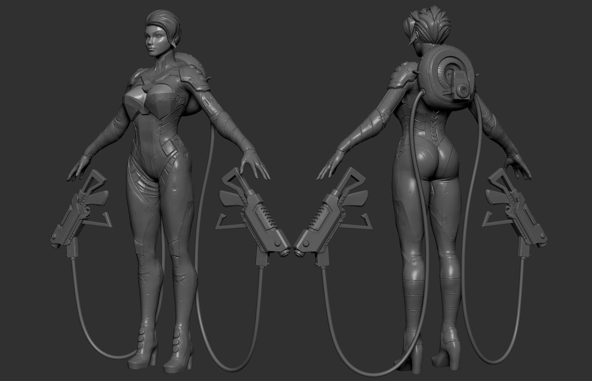 Eren ozel cinder scifi costume design 35 161207