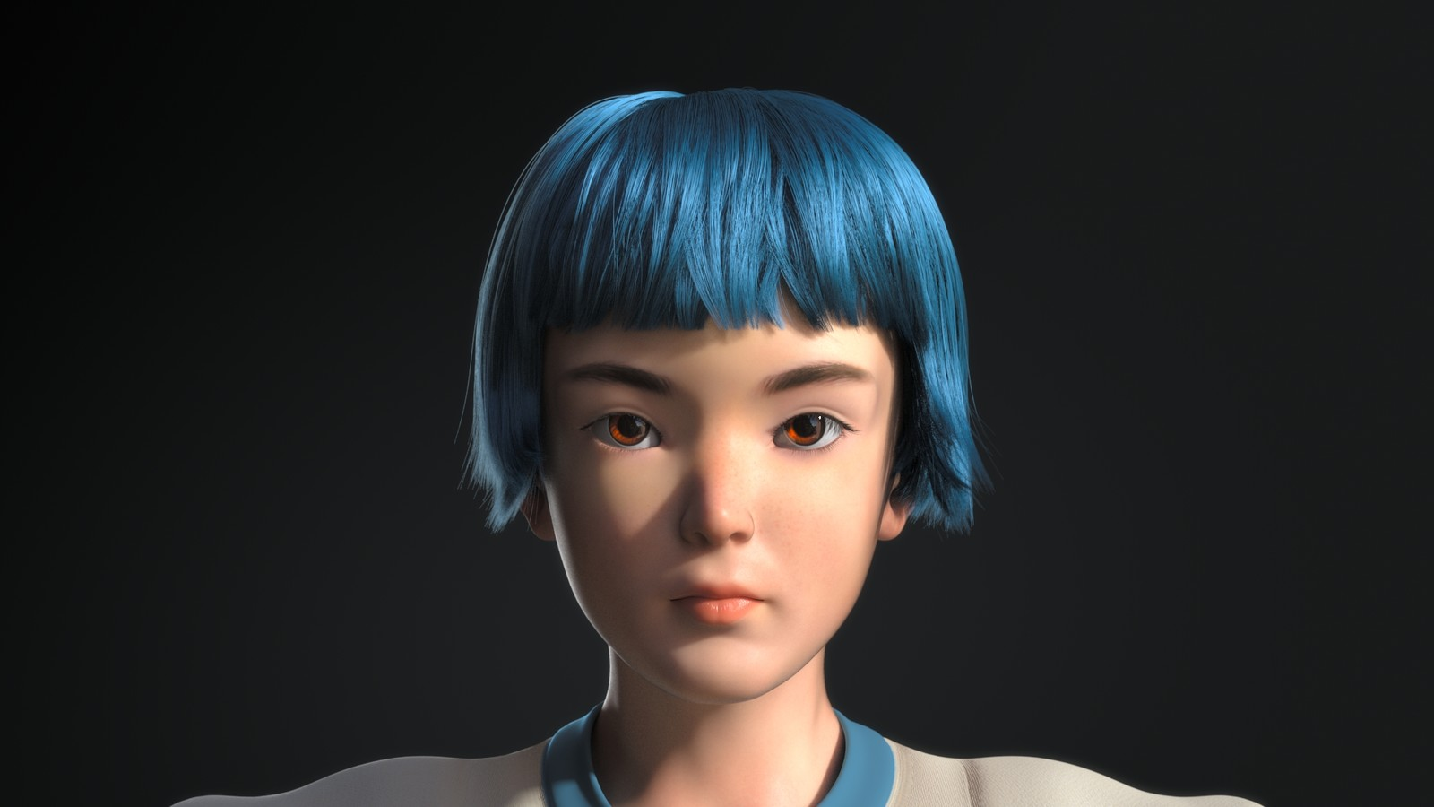 1080 render 1.5x thickness on the hair