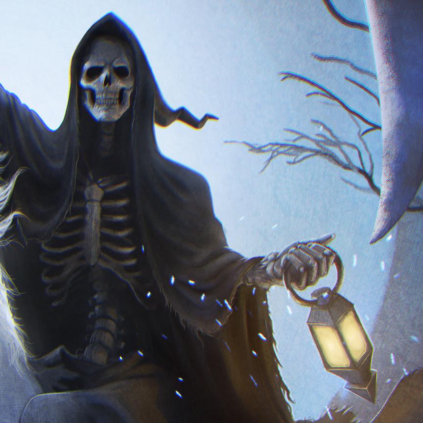 Sal vador thedarkcloak deathcloseup