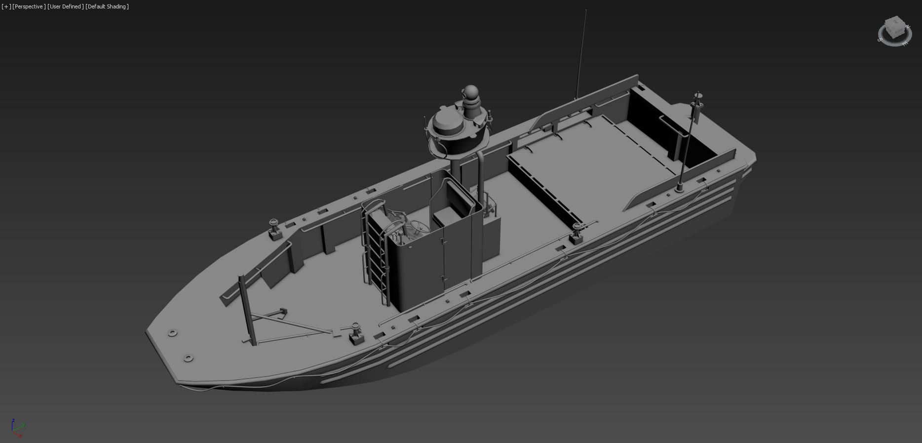 HO 3D Printed 1//87 US Navy SOC-R SEALS//SWCC riverine craft