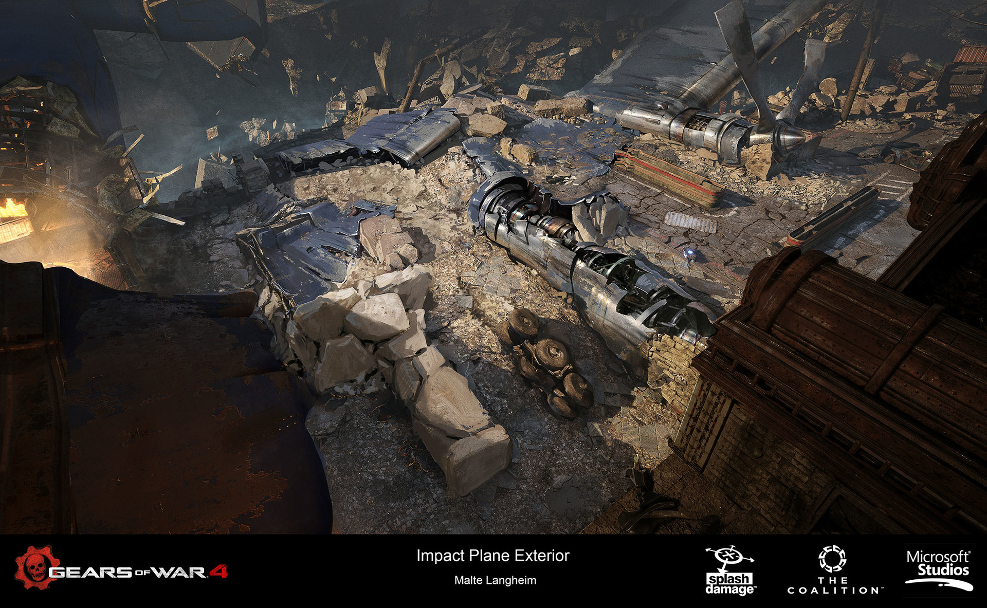 ArtStation - Gears of War 4 - Impact Concepts, Malte Langheim