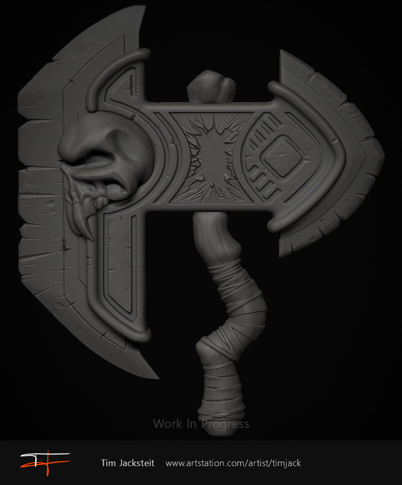 Tim jacksteit axe wip01