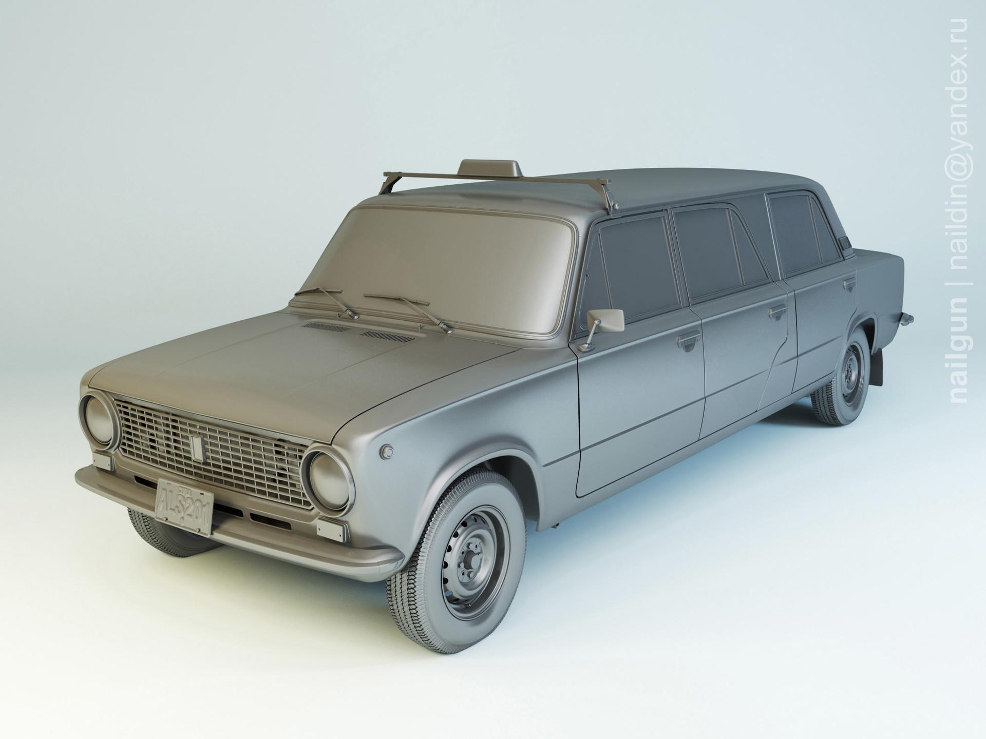 Nail khusnutdinov als 201 001 vaz 21011 limousine modelling 0