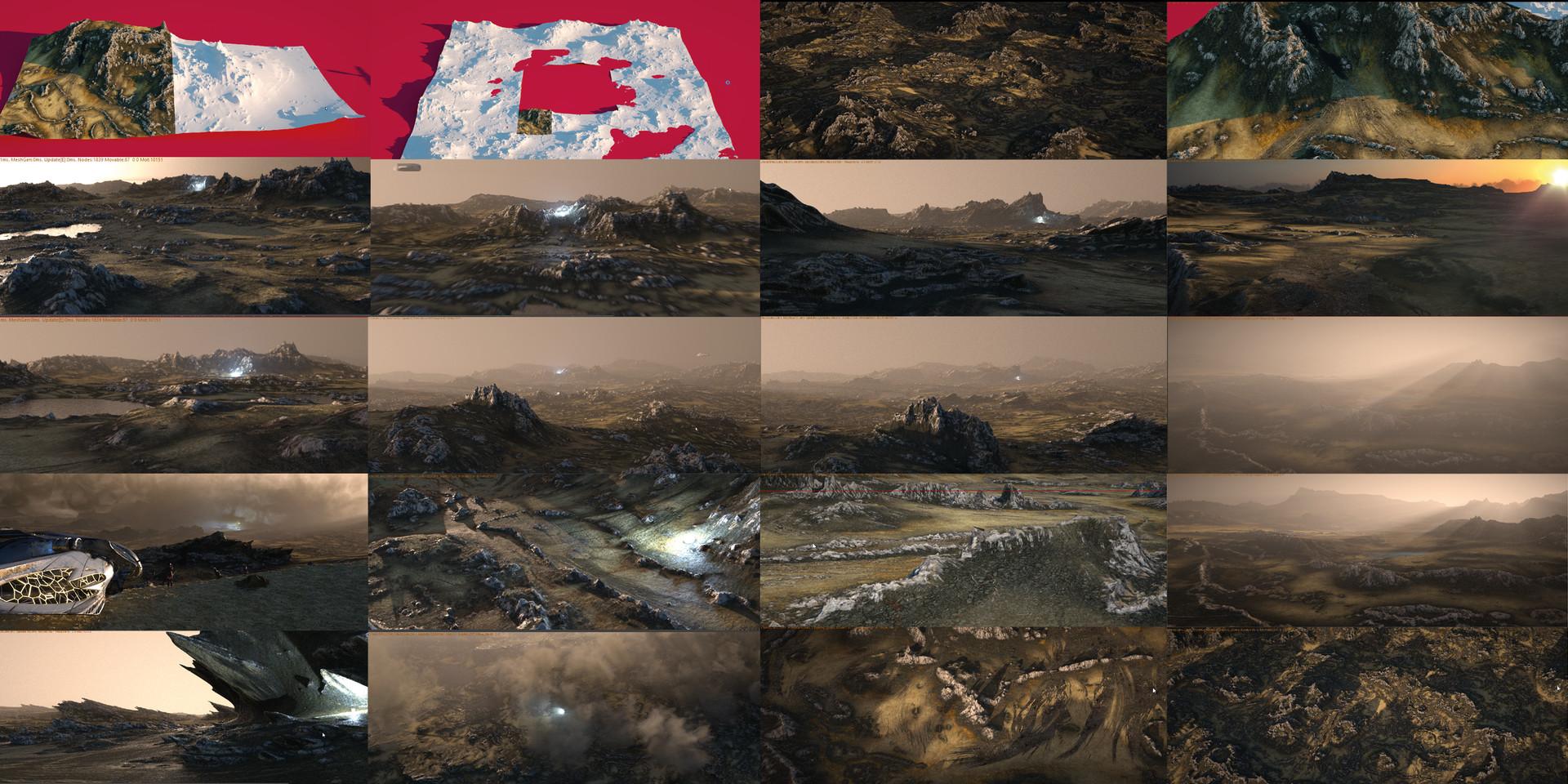Terrains | Yvan Feusi