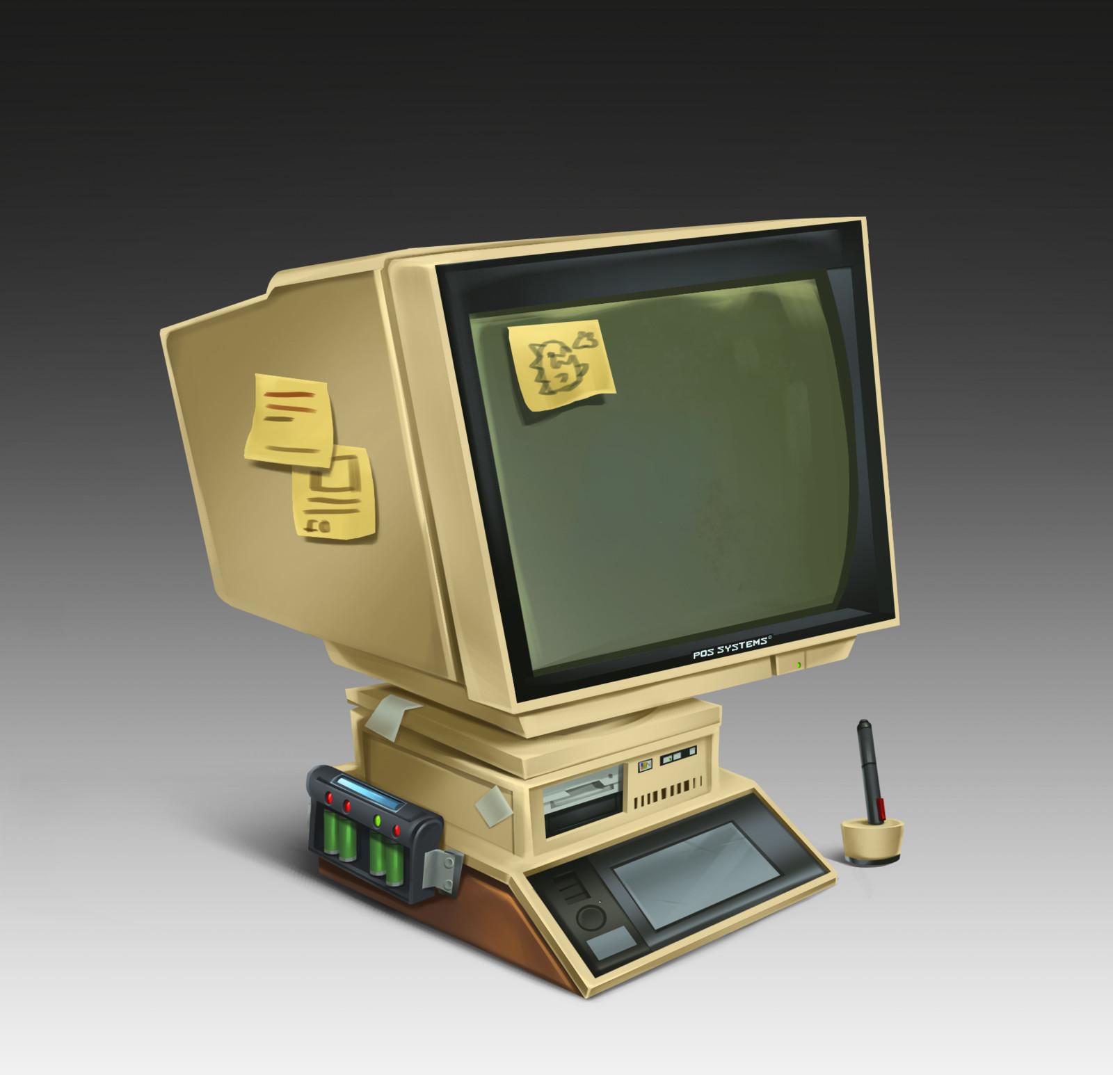 Cyberworld - Asset Computer