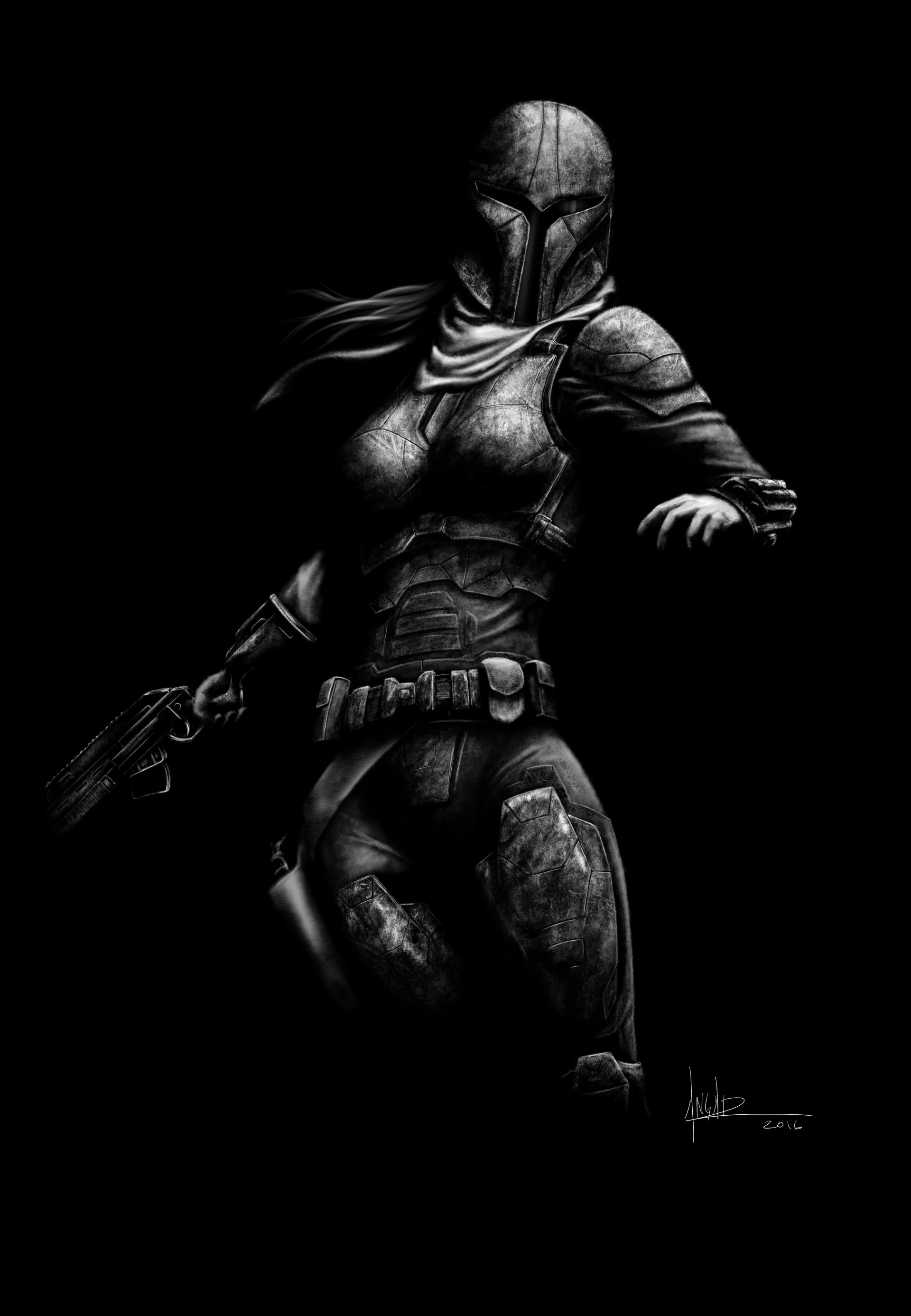 Image result for fan art mandalorian