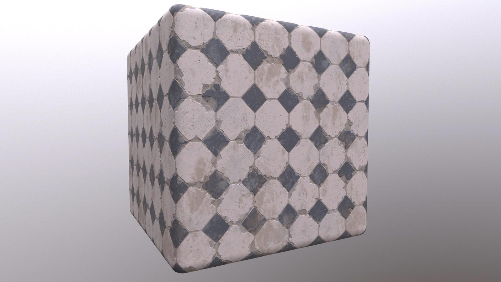 Substance Tile Study
