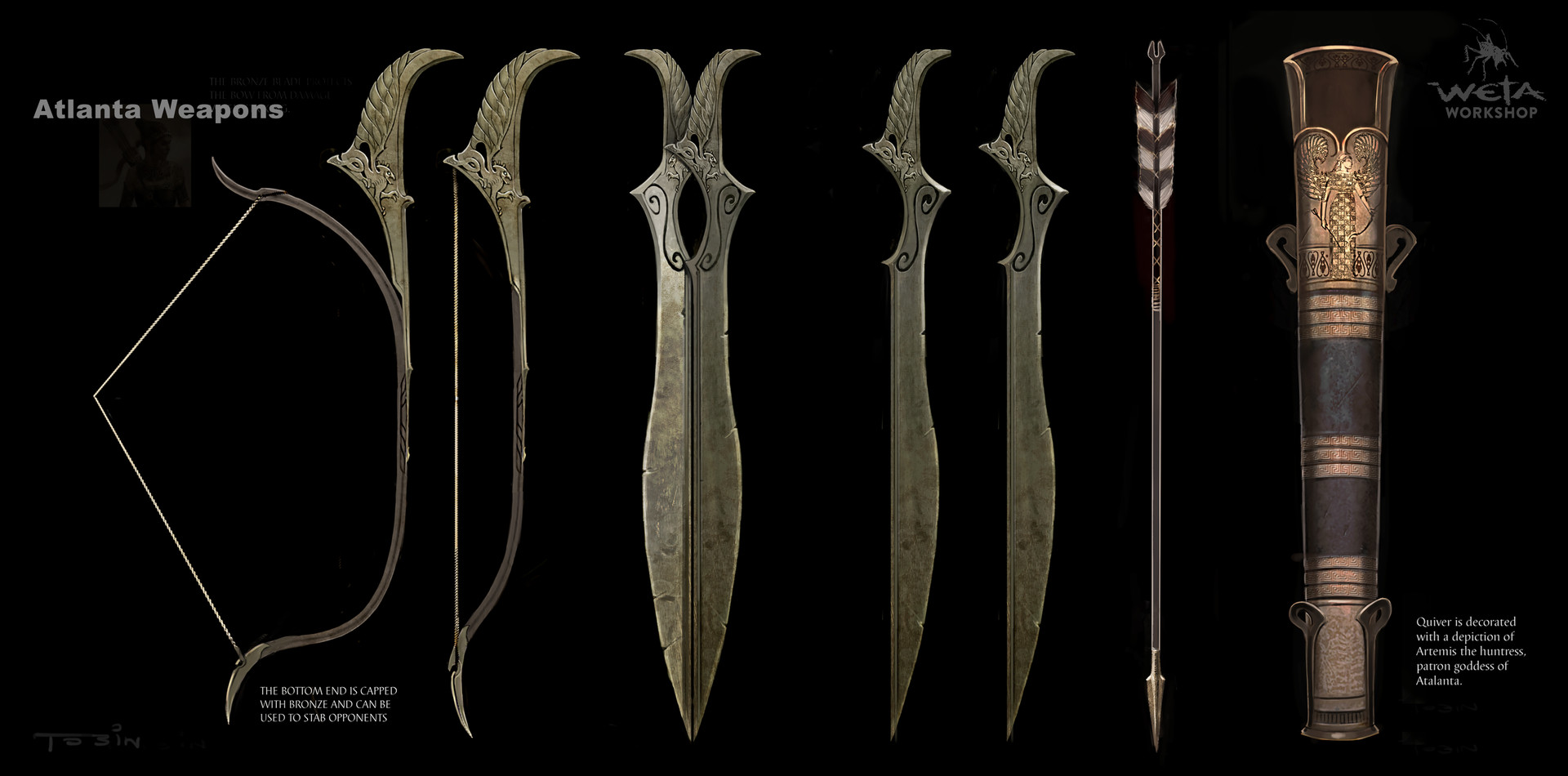 Weta workshop design studio weta workshop design studio atalanta weapons