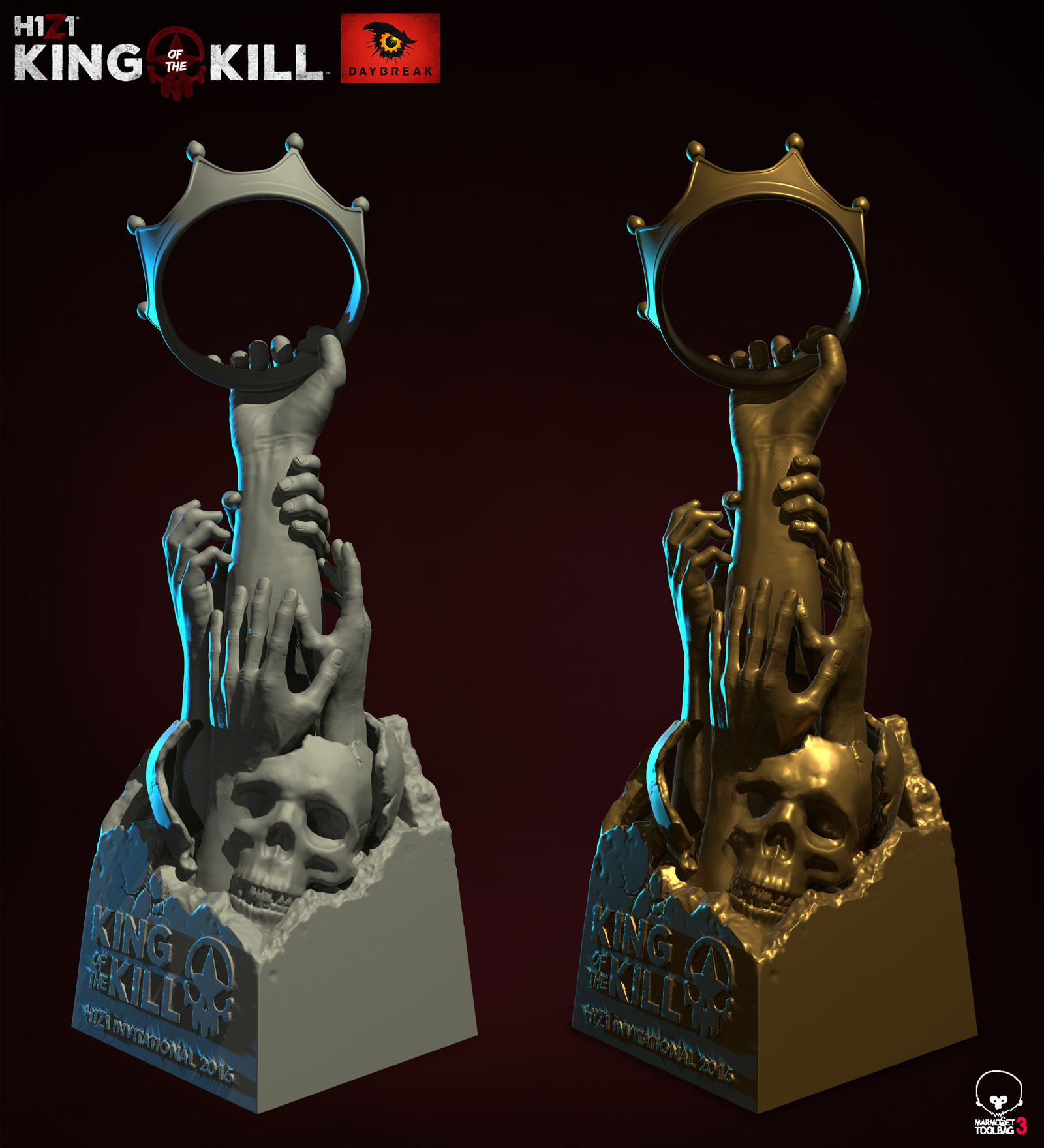 H1Z1 King of the Kill Twitchcon Invitational Trophy