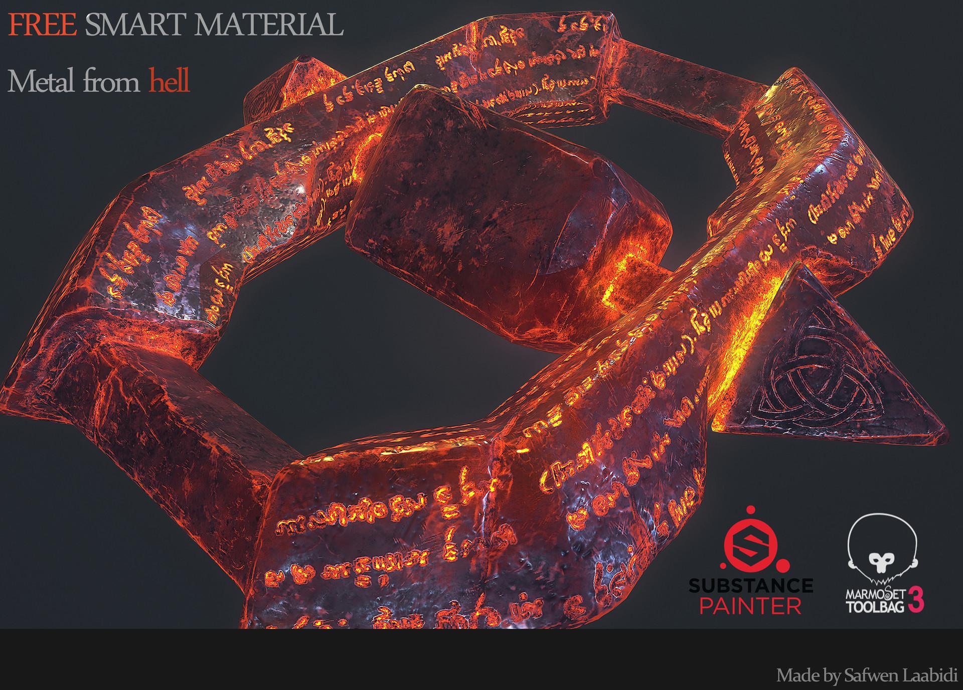 free substance painter smart materials