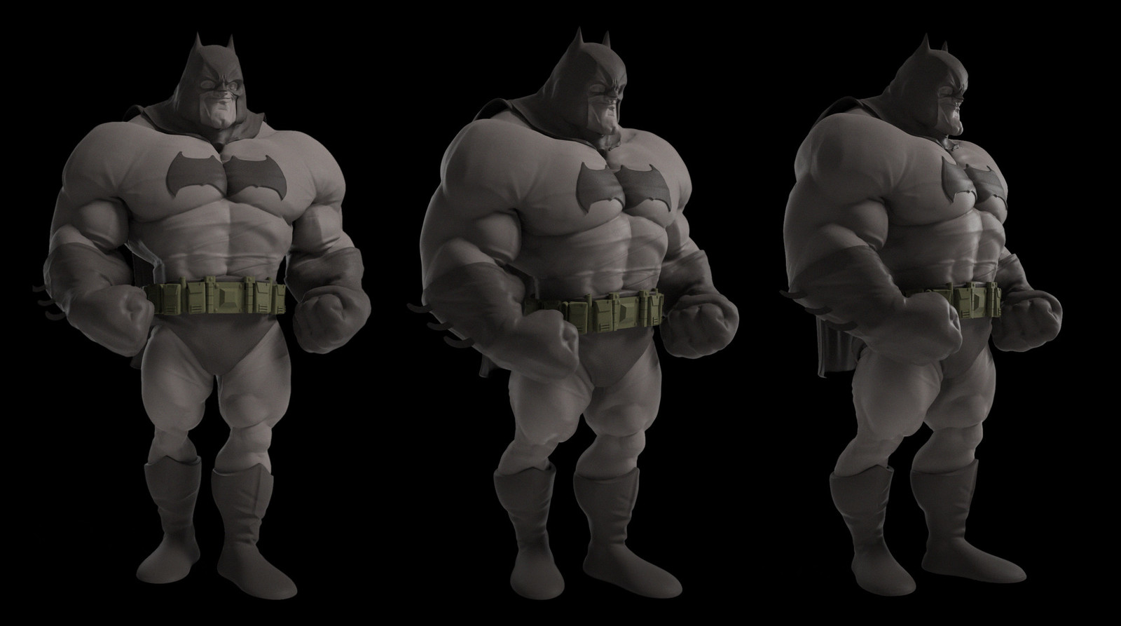 beefcake batman sculpt