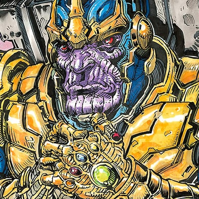 Tony leonard tl marvel thanos rising blankcvr color prevw