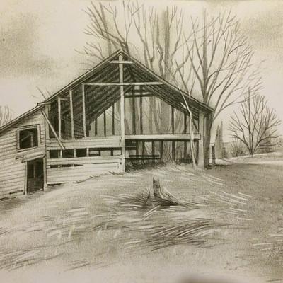 Dermot walshe barn near picton
